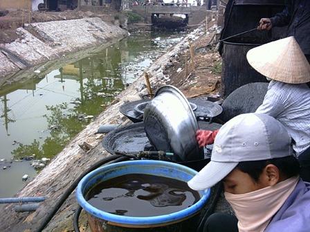 Một số bệnh thường gặp do nguyên nhân ô nhiễm nước