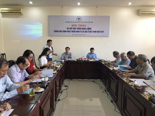 Xu thế phát triển năng lượng ở Việt Nam
