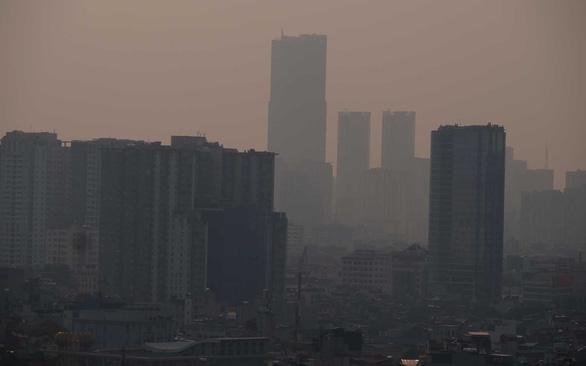 Không khí Hà Nội ô nhiễm tới ngưỡng gây hại cho sức khỏe